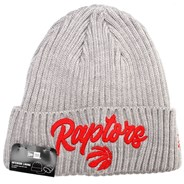 NBA 2020 Draft Knit Grey Beanie - Toronto Raptors