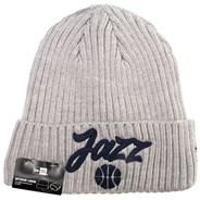 NBA 2020 Draft Knit Grey Beanie - Utah Jazz