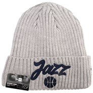 NBA 2020 Draft Knit Grey Beanie - Utah Jazz