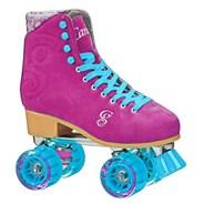 Carlin Quad Roller Skates - Berry