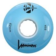 Luminous 62mm 85a Roller Skate Wheel - Blue