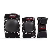 ENU590 Junior Heavy Duty Triple Pad Set - Skulls
