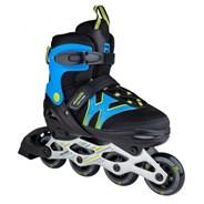 Motion Adjustable Kids Recreational Inline Skate - Black/Blue