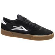Cambridge Black/Gum Suede Shoe