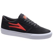 Manchester Charcoal/Flame Suede Shoe