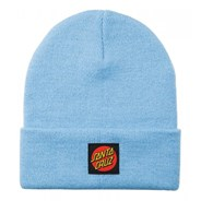 Classic Label Dot Beanie - Powder Blue