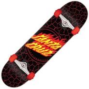 Flame Dot Full 8 Back Complete Skateboard