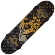 Jackpot Hand Large 8.25 Black Complete Skateboard