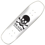 OG Skull White Square Nose 9inch Pool Shape Deck