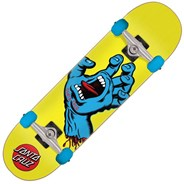 Screaming Hand Multi 7.75 Complete Skateboard - Yellow