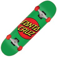 Classic Dot Multi 7.8 Complete Skateboard - Green