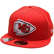 NFL Sideline 2019 Road 5950 Fitted Cap - Kansas City Chiefs