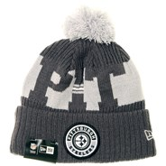 NFL Sideline Bobble Knit 2020 Grey Beanie - Pittsburgh Steelers