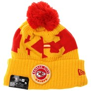 NFL Sideline Bobble Knit 2020 Reverse Beanie - Kansas City Chiefs