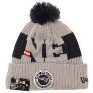 NFL Sideline Bobble Knit 2020 Reverse Beanie - New England Patriots