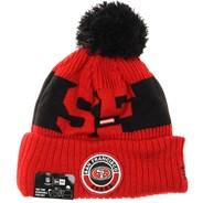 NFL Sideline Bobble Knit 2020 Reverse Beanie - San Francisco 49ers