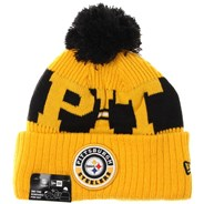 NFL Sideline Bobble Knit 2020 Reverse Beanie - Pittsburgh Steelers
