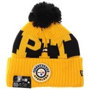 NFL Sideline Bobble Knit 2020 Reverse Beanie - Pittsburgh Steelers