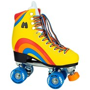 Rainbow Rider Quad Roller Skates - Sunset Yellow