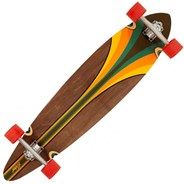 Malibu Complete Pintail Longboard - Multi