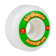 Logo 99a Skateboard Wheels 51mm - Rasta