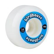 Logo 99a Skateboard Wheels 54mm - Blue