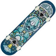 Alien Pile-up Mini Complete Skateboard