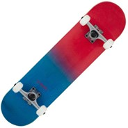 Double Dipped Complete Skateboard - Red