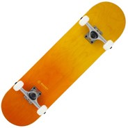 Double Dipped Complete Skateboard - Orange