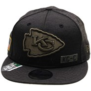 NFL On Field 2020 Salute To Service 950 Snapback - Kansas City Chiefs