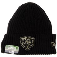 NFL On Field 2020 Salute To Service Cuff Knit Beanie - Chicago Bears
