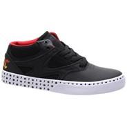Kalis Vulc Mid AC/DC Black/White/Red Shoe