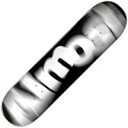 Spin Blur Logo Black 8inch Skateboard Deck