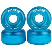 Disco Clear Blue Quad Roller Skate Wheels