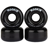 Disco Black Quad Roller Skate Wheels