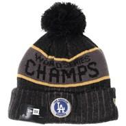 LA Dodgers World Series 2020 Champions Knit Beanie