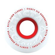 Clouds 57mm 86A White/Red Wheel