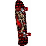 Peralta Mini Cab Dragon #185 8 Complete Skateboard - Black