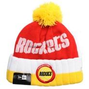 Houston Rockets Hardwood Classic Knit Beanie