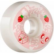 Armanto Spilt Milk SPF P6 (Wide cut) 81B 56mm White Skateboard Wheels