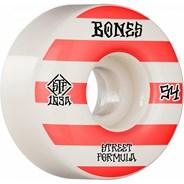 Patterns STF V4 Wide 103A 54mm White Skateboard Wheels