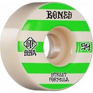Patterns STF V4 Wide 99A 54mm White Skateboard Wheels