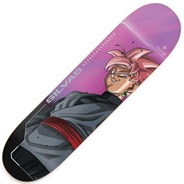 Silvas Super Saiyan Rose Goku Black 8.125inch Skateboard Deck