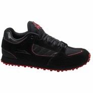 Carroll x Thrasher Black/Red Suede Shoe
