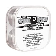 Erick Winkowski Pro G3 Black/White Bearings (8 Pack)
