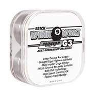 Erick Winkowski Pro G3 Black/White Bearings (8 Pack)