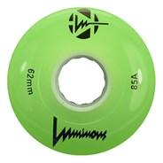 Luminous 62mm 85a Roller Skate Wheel - Green