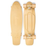 Complete Nickel 27inch Plastic Skateboard - Staple Bone