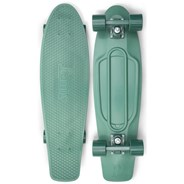 Complete Nickel 27inch Plastic Skateboard - Staple  Heritage Green