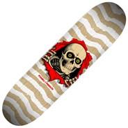 Peralta Ripper #247  8inch Skateboard Deck - White